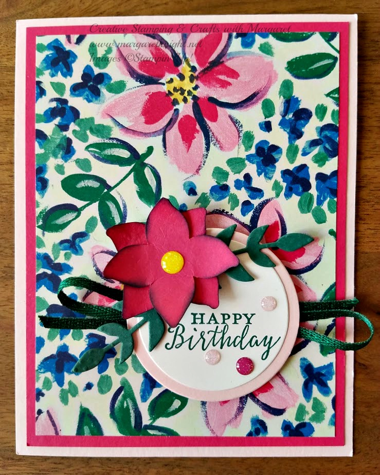 Creative Stamping With Margaret