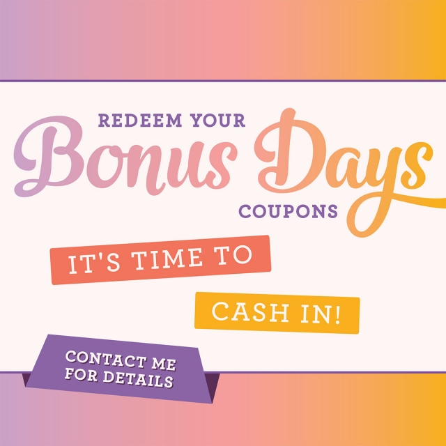 Bonus Day Redemption