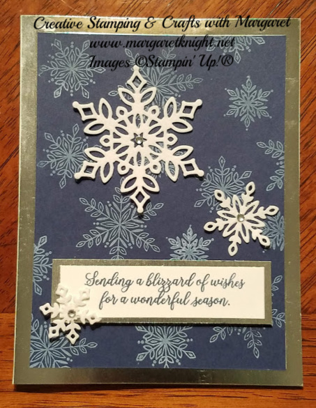Snow Is Glistening  Stamp Set and Snowfall Thinlits Dies from Stampin' Up!
