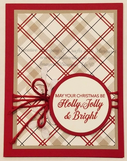 Holly, Jolly & Bright quick & easy holiday card
