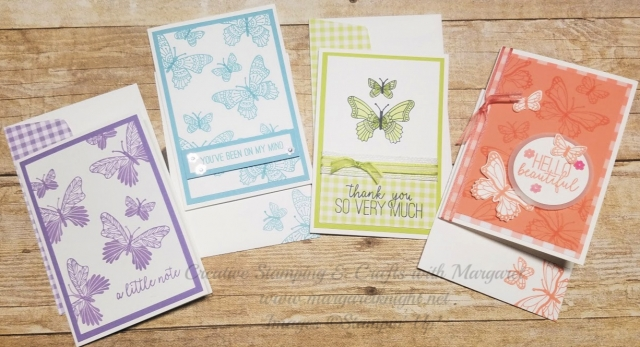 Set of Butterfly Gala Note Cards