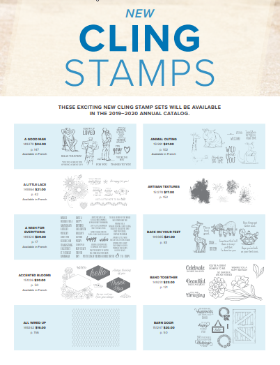 Stamping With Judy: 2019-2020 Annual Catalog
