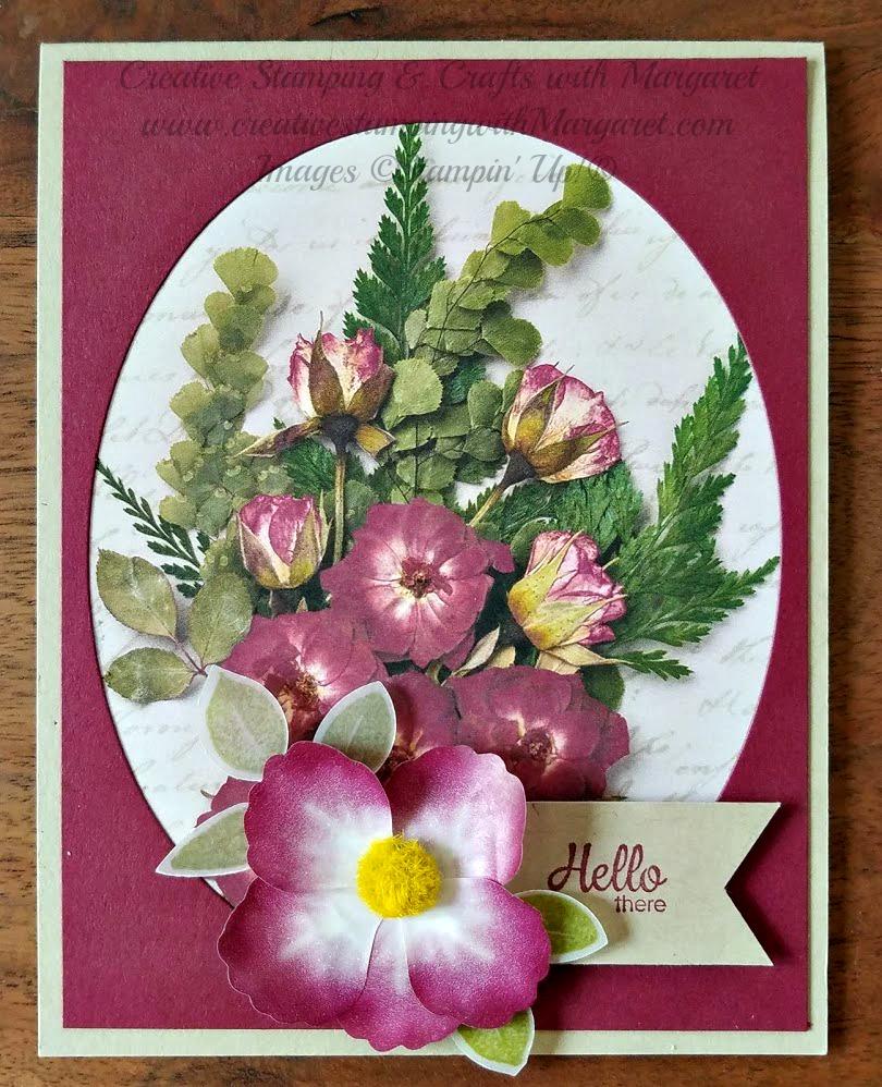 pressed petals bouquet