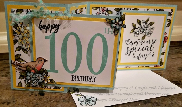 Special Birthday Card for 100th Year